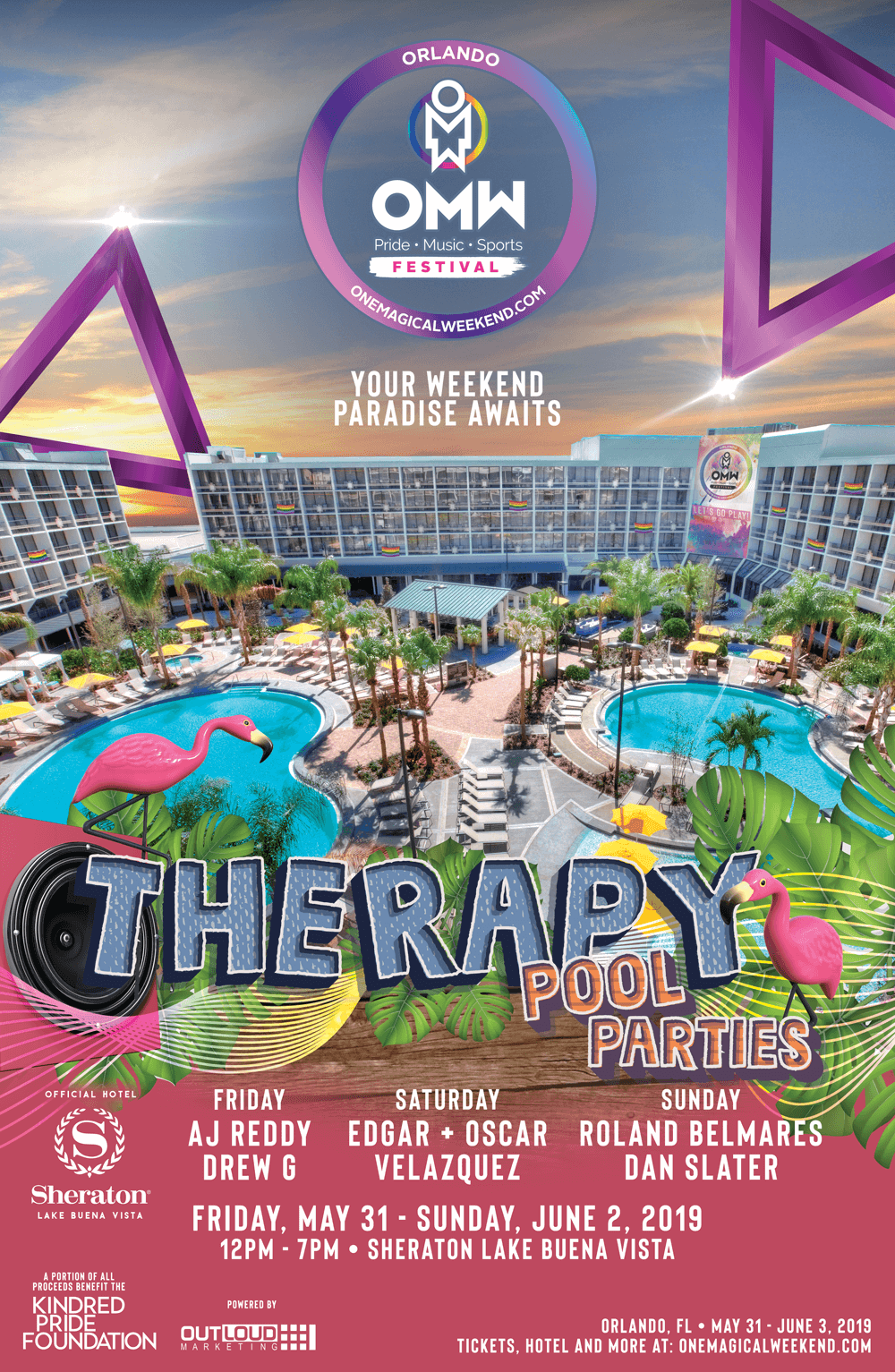 Therapy Pool Party